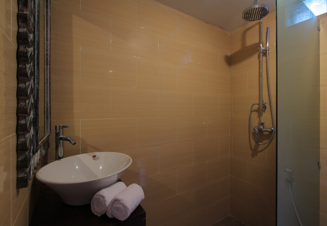 Shower Two Bedroom Villa - Sudha Villa Bali