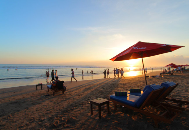 Sunset View Near Duplex Villa - Sudha Villa Bali