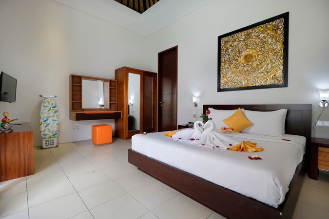 Two Bedroom Pool Villa New Room - Sudha Villa Bali