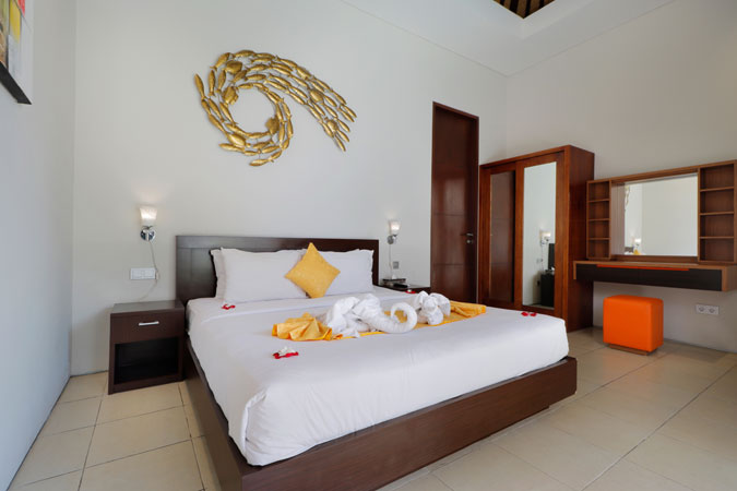 Two Bedroom Pool Villa Room - Sudha Villa Bali