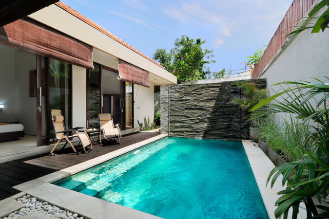 Two Bedroom Pool Villa Swimmingpool - Sudha Villa Bali